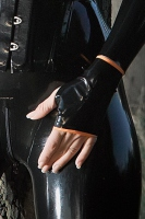 latex wrist cuffs